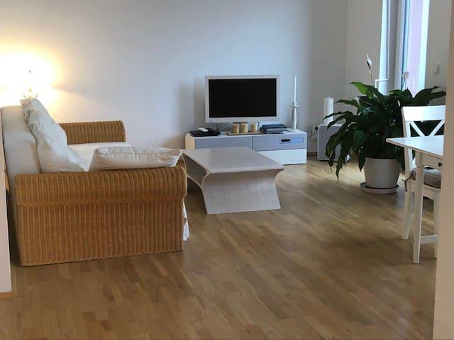 Helle freundliche Zwei Zimmer Wohnung