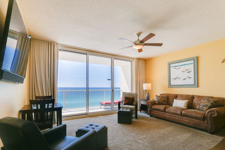 Beach Front Condo at Luxurious Majestic Resort