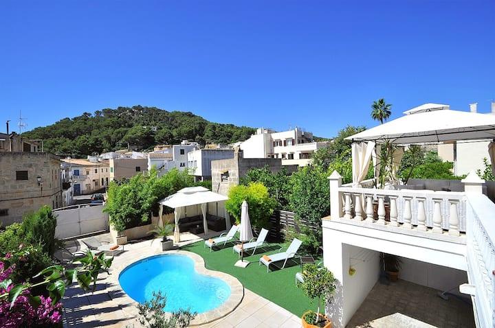 Villa VARNA en Capdepera. Espaciosa y acogedora
