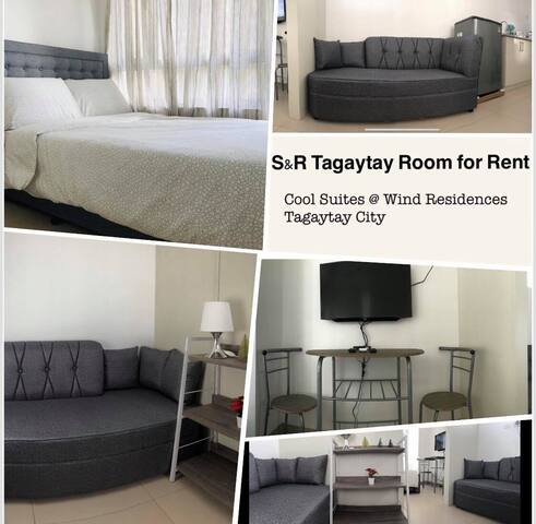 S&R Tagaytay Room - Cool Suites @ Wind Residences