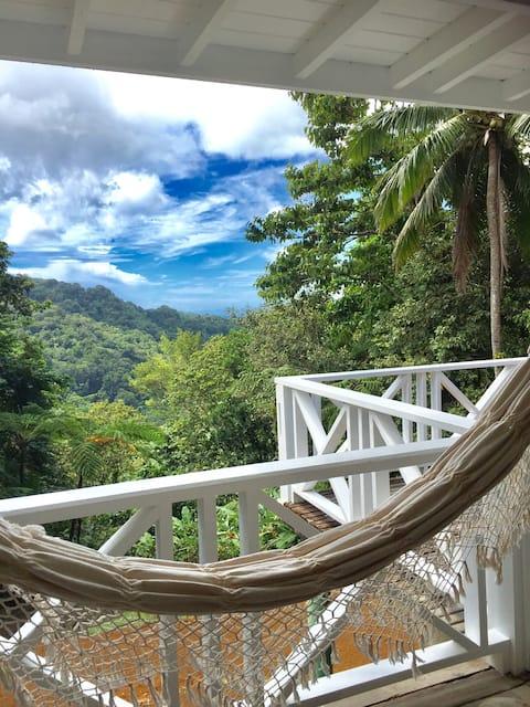 Mountain rainforest estate with stunning views!