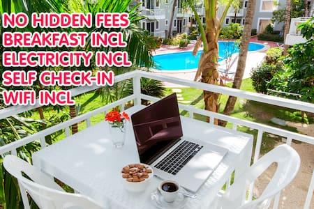 DELUXE STUDIO 3ppl B&B WiFi #3 - Punta Cana - Apartment