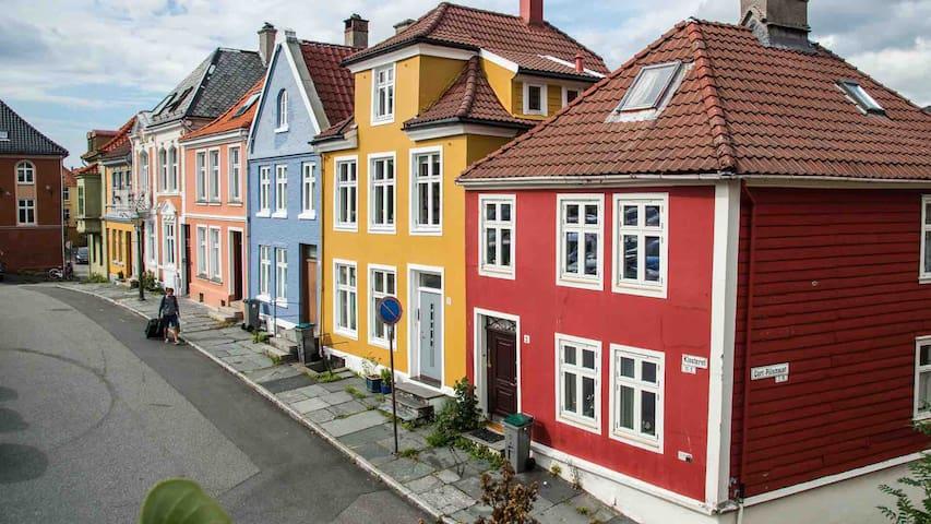 Koselig komfortabelt rom i sentrum av Bergen