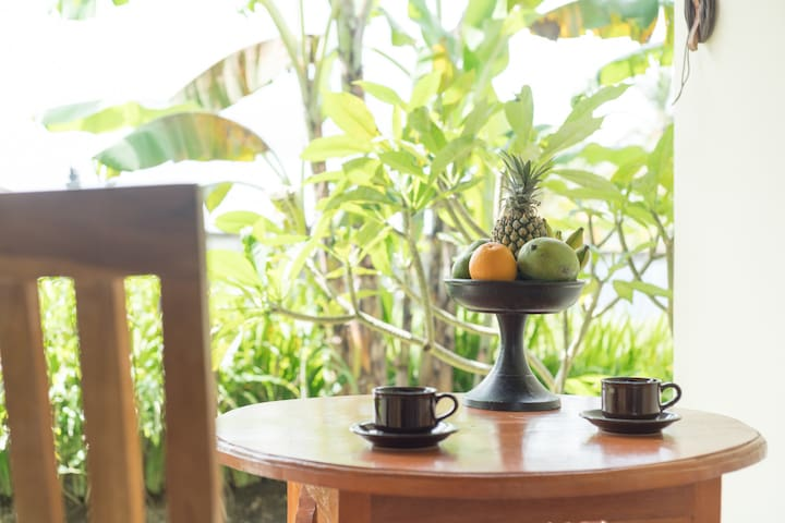Ubud countryside chalet for relaxing holiday
