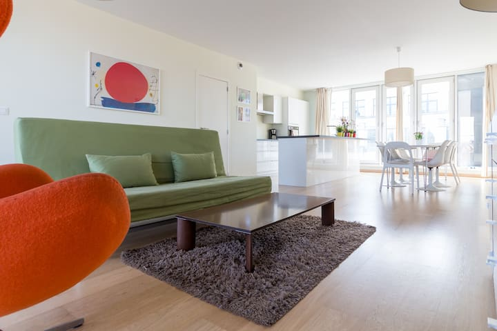Great penthouse with Atomium view! - Schaerbeek - Lejlighed