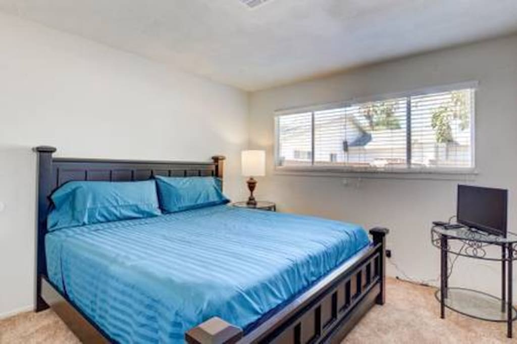 Bedroom #2 with King size bed