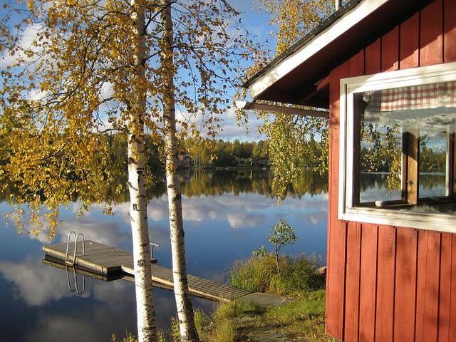 Lamminjärven rannalla Veikkolassa