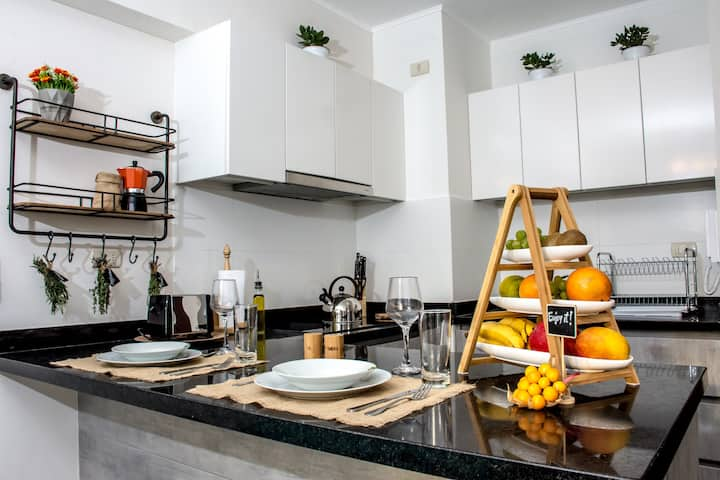 ☆Vibrant Barranco Apartment☆guaranteed cleanliness