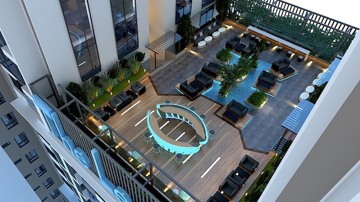 Luxury Apartment The Legend 5* with swimming poor