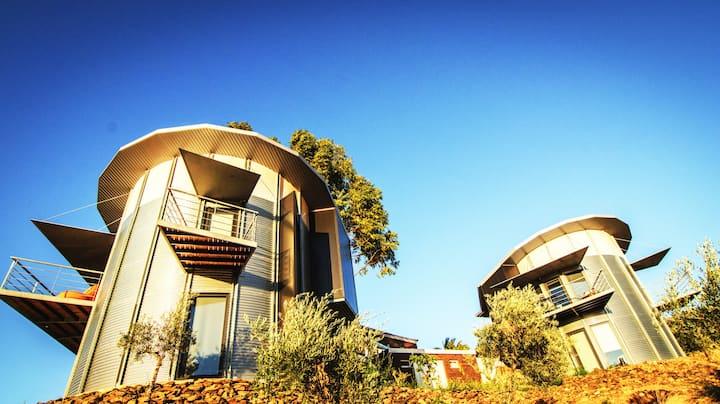 Bela Vista Silo Housing - Quarto Duplo com Varanda