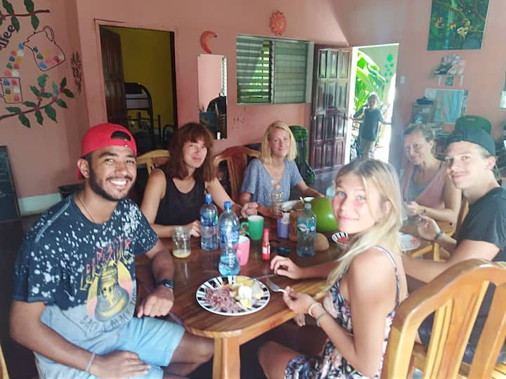 family homestay...Papagayo