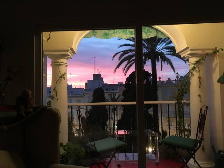 Vista bonita/Plaza verde/centro histórico/WIFI