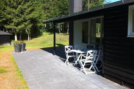 Lovely summerhouse in the forrest - Sindal
