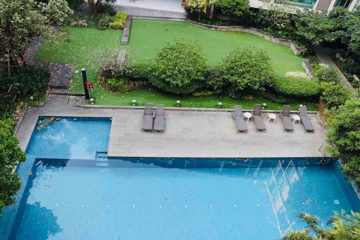 【特价】宁曼路中心地段免费泳池健身房近玛雅商场宁曼1号清迈大学古城素帖山双龙寺