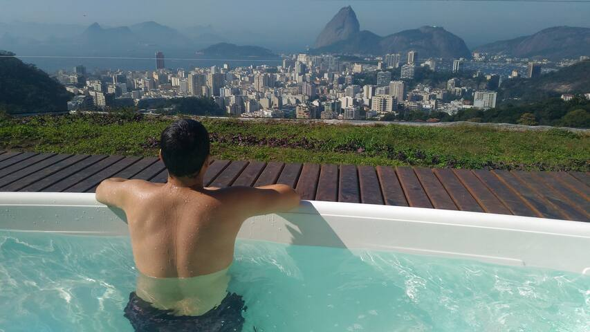 relax and think of nothing, just enjoy your stay in Rio.