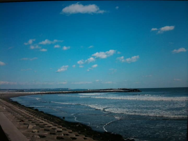最東端初日の出 銚子海鮮犬吠埼灯台   駐車無料  wiFi  BBQ 1名でも個室 徒歩5分太平洋