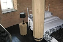 Tower bedrooms..(there are 3 doubles) feather toppers, electric blankets and infa-red heating .