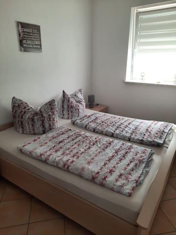 Zwei Schlafplätze