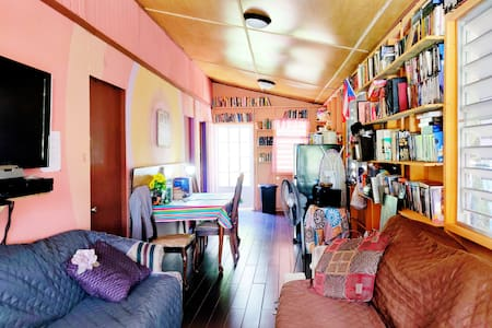 Private Room #1 in Santurce (Home/Library)