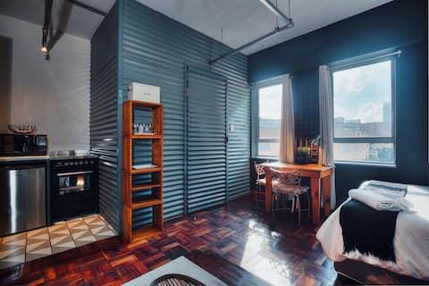 Cozy, Modern Living in Maboneng: 105 Artisan Lofts