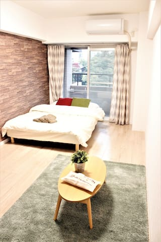 Stylish room☆Nankai namba10min!Walk 2 Dotonbor25 - Chuo Ward, Osaka - อพาร์ทเมนท์