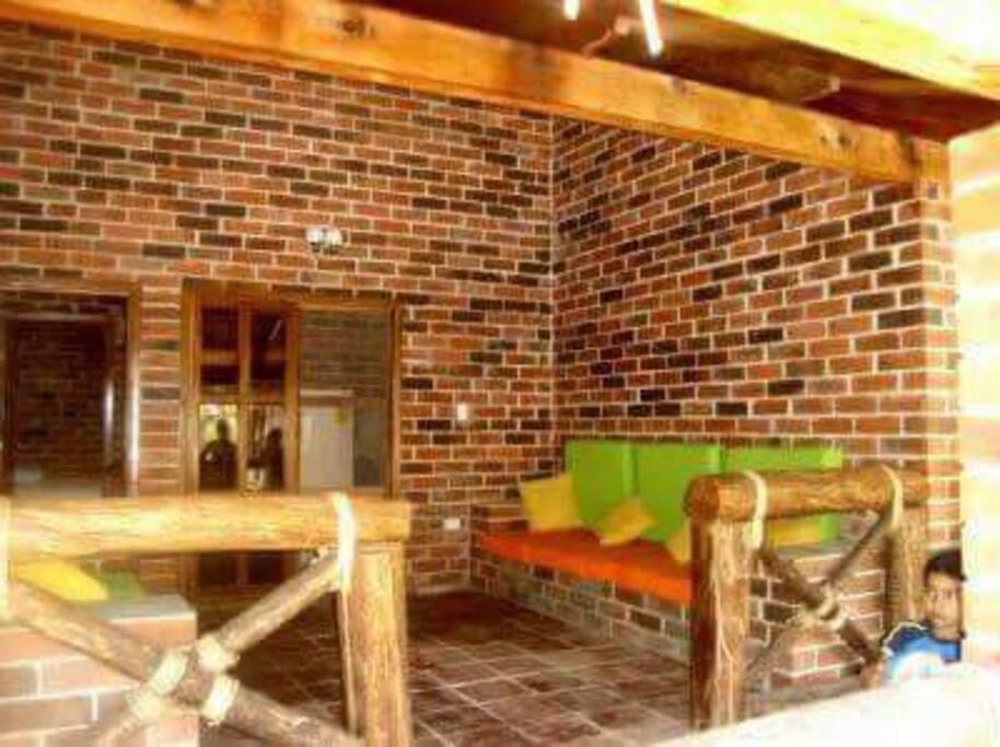 Sala de estar, donde disfrutarás del cálido clima de las playas del Pacífico.