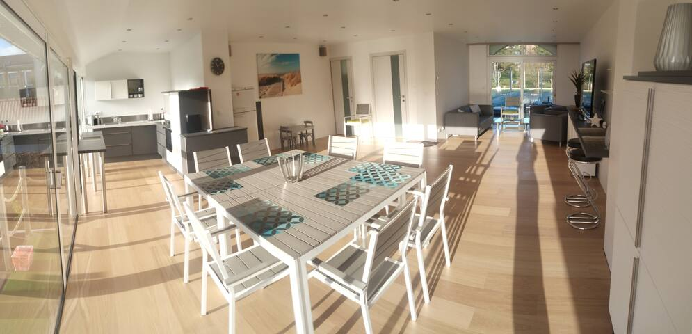 Villa 4room 2bathroom billiard 100m beach - Bray-Dunes - Holiday home