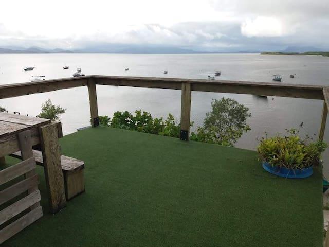 MORADA CARDUMES - Ilha das Peças - frente pro mar