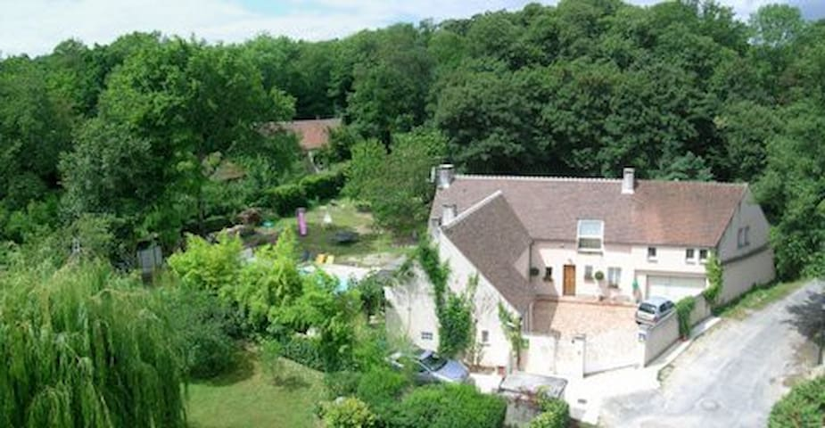 Le Jardin des Roches - Moigny-sur-École - Cabaña en la naturaleza