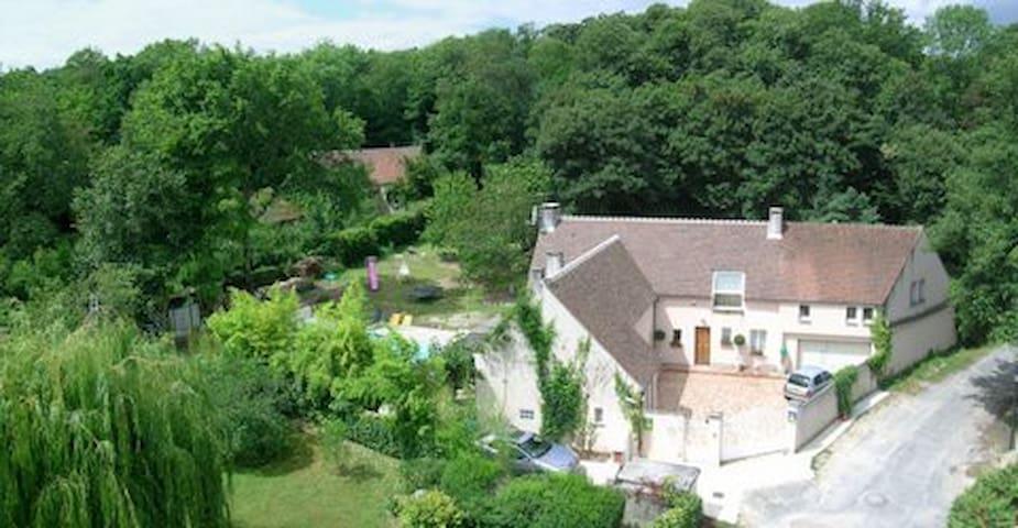 Le Jardin des Roches - Moigny-sur-École - Doğa içinde pansiyon