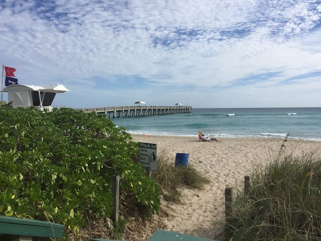 Walk to Palm Beach, Parks & Dining - Lake Worth - Huis