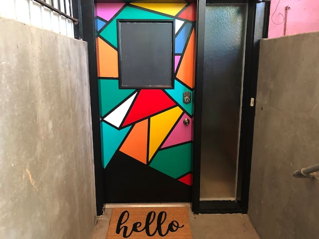 The Mosaic Door Apartment