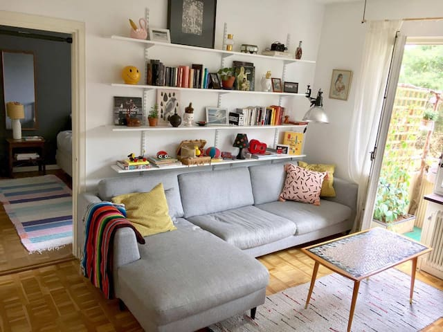Comfy 2 room apartment, 10 min from Slussen