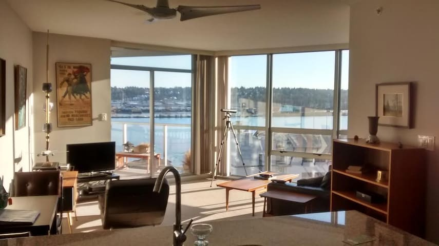 Bright modern 2 Bedroom River Front - New Westminster - Apartment