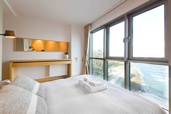 Lovely sea views near San Sebastian, garage - Getaria - Apartemen