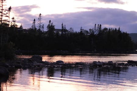 Tors Cove Pond Retreat Cabin - Tors Cove - Kabin