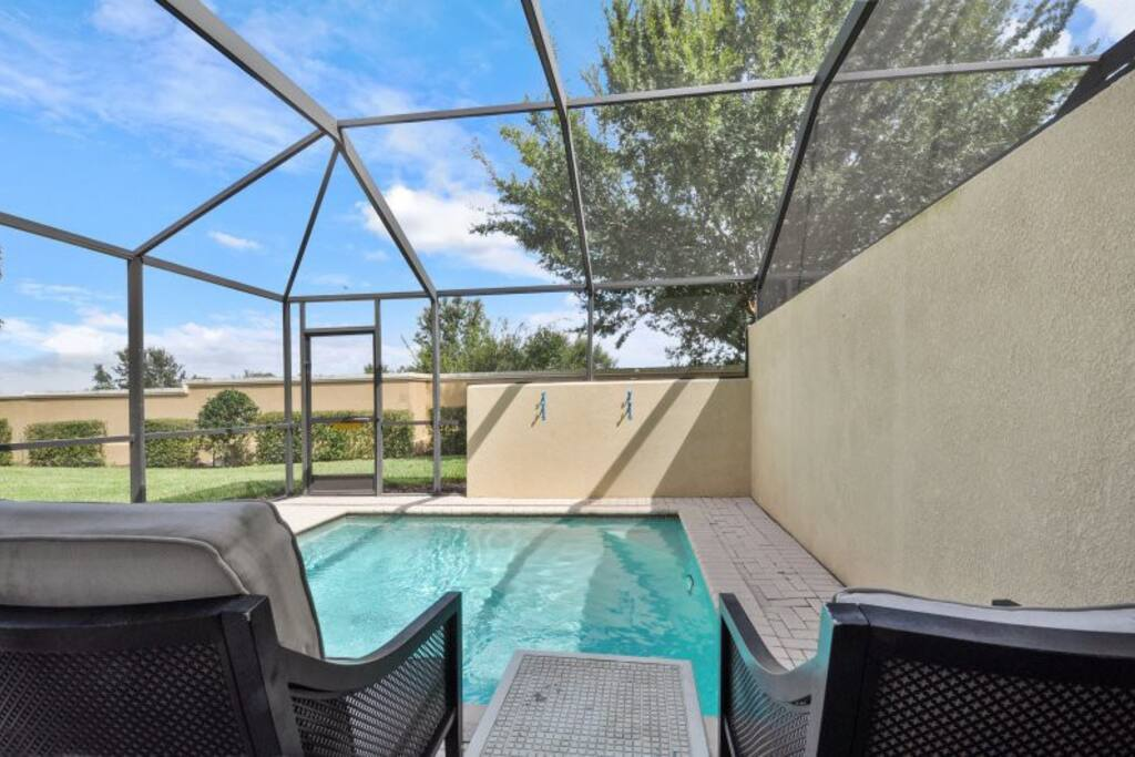 Your own private splash pool