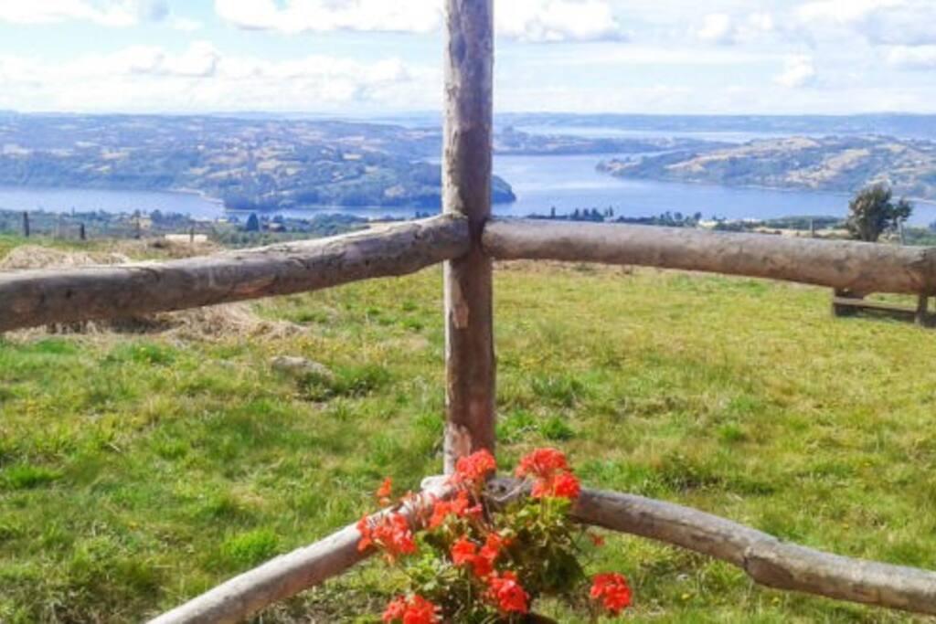 Visas desde la Cabaña, vistas preciosas