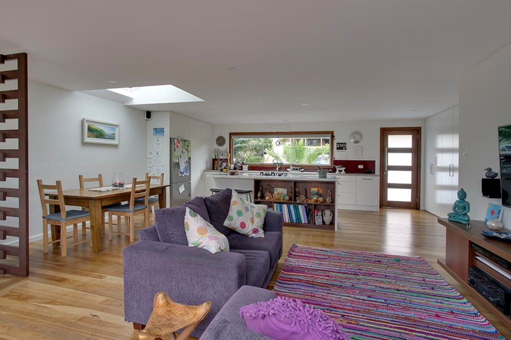 Large kitchen for self catering - No need to eat out !