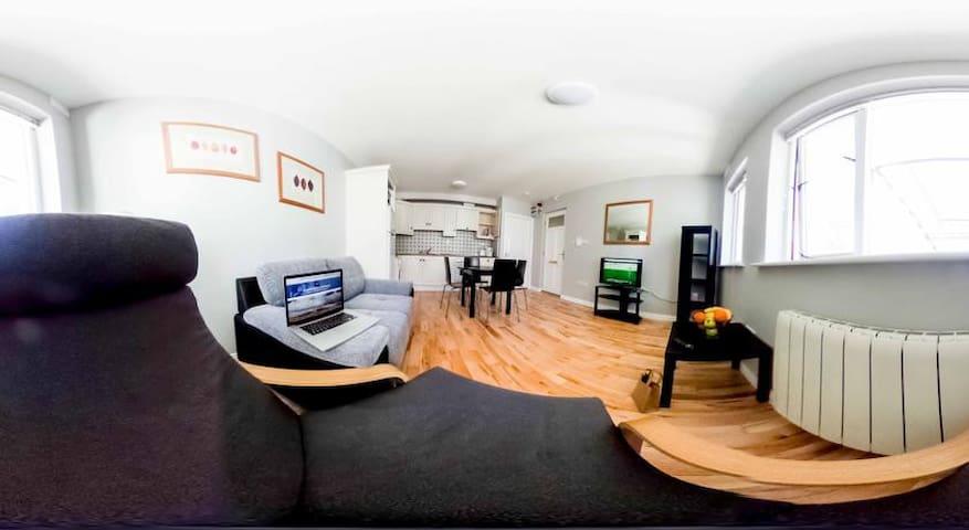 Dominick Street Apartments. 2 Bedroom Apartment