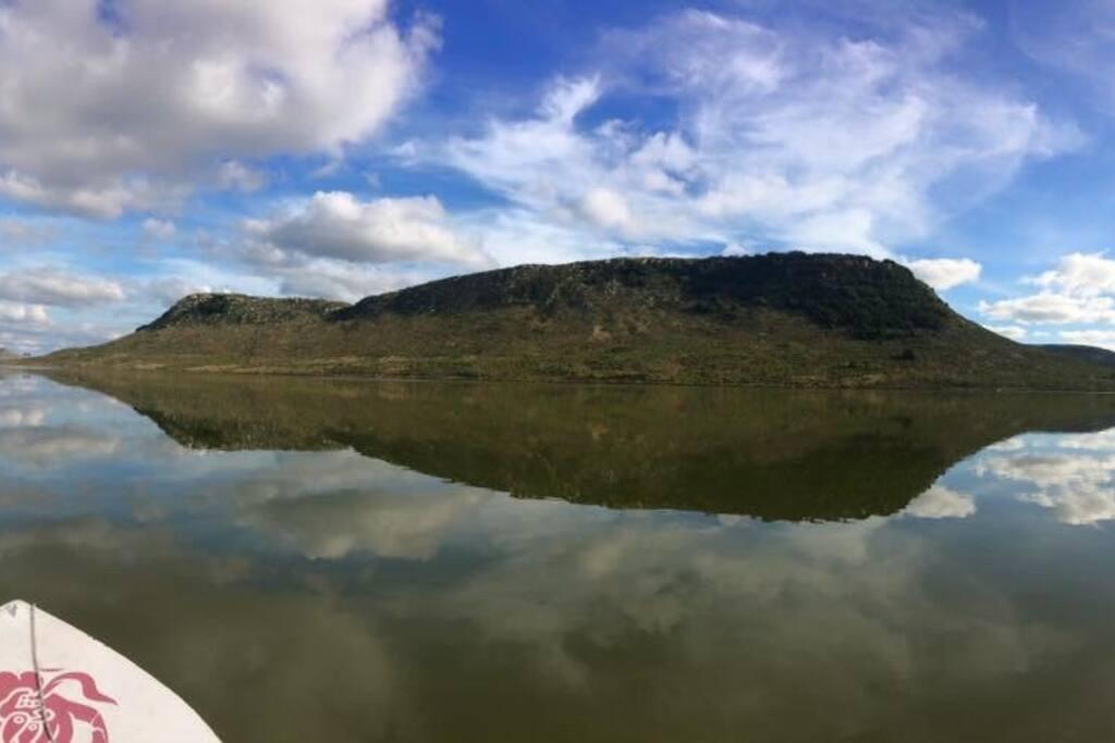 Paisaje de Laguna Brava