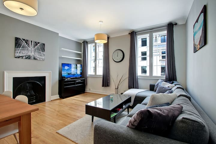 Luxury 170SQM Apt 2 Bed w/En-suite on Baker Street