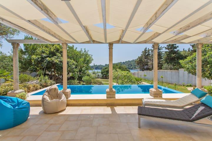 Villa BoN-Temps S, full privacy, pool, patio, gard - Općina Dubrovnik - Villa