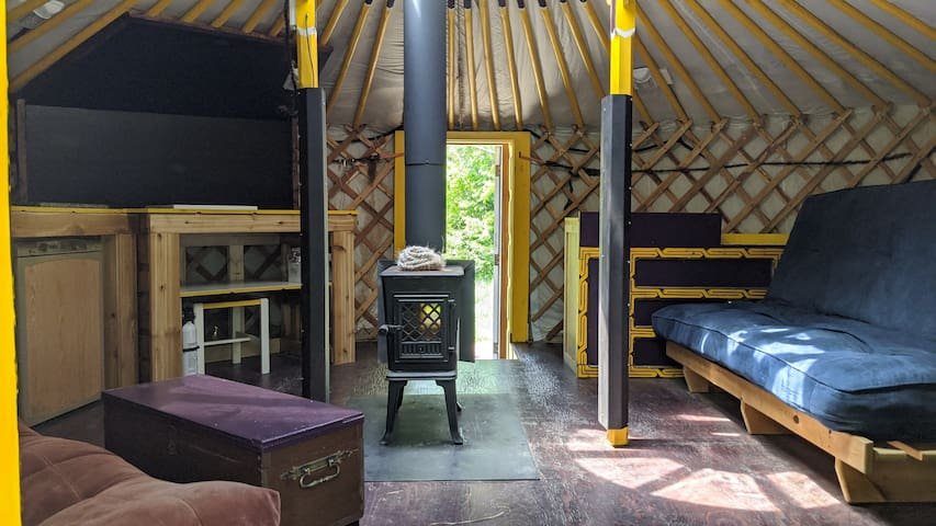 """ReLive Yurt Cabin """"YELLOW"""""""