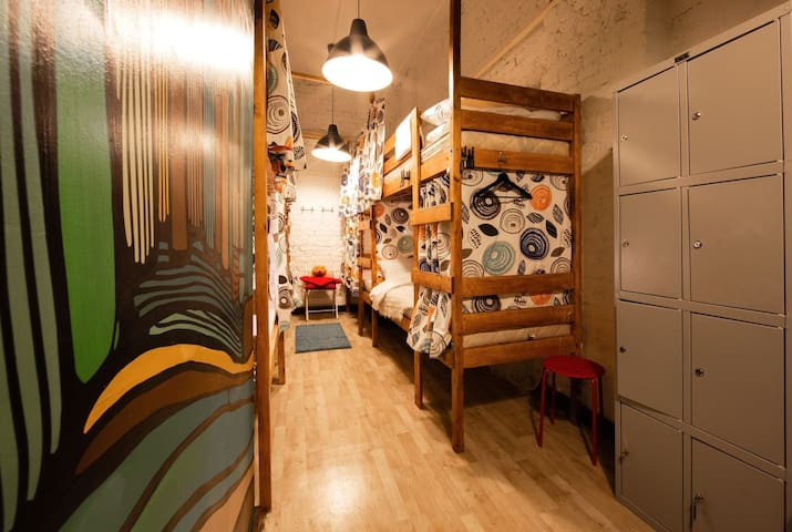 Bunk Bed Dormitory Room for 8 Persons