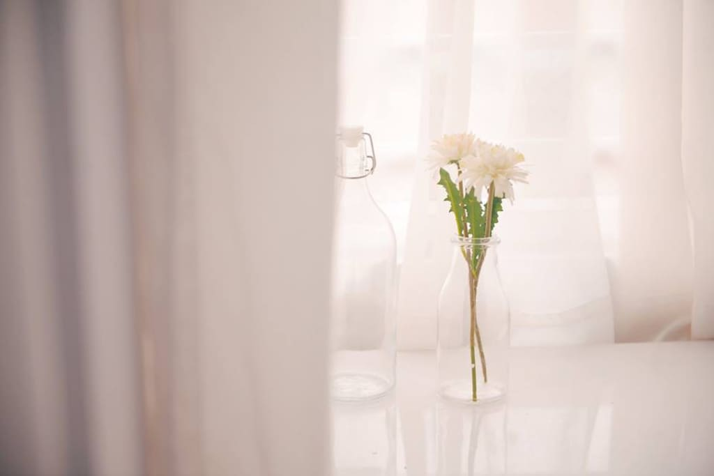 White- color of beginning, purity, virginity, light, goodness, heaven, safety <3