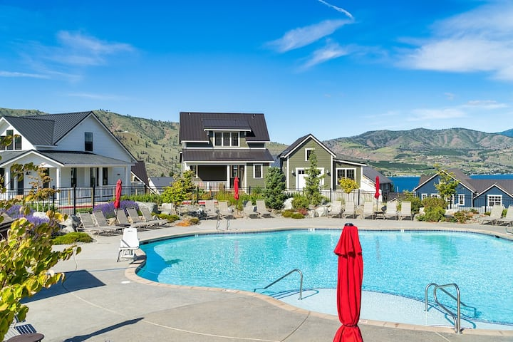 Welcome to Poolside Vista at Lake Chelan