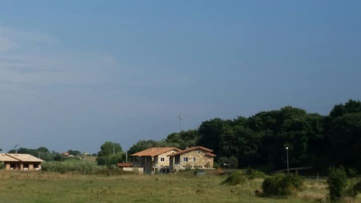 Ville a 2 km dal mare di Capalbio