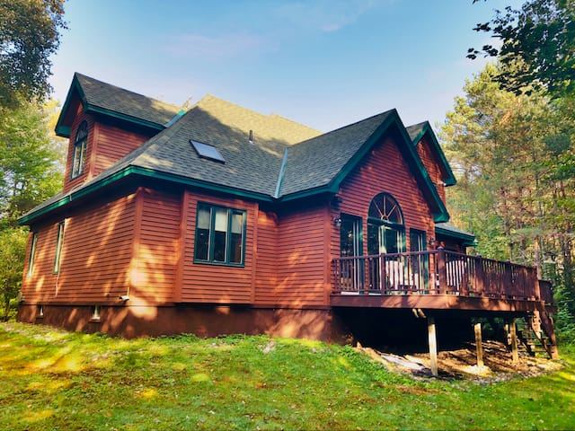 Fall colors - Private & Spacious Adirondack Home