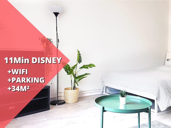 T1 cozy - large studio - 4 pers- Disneyland Paris